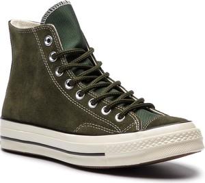 Trampki CONVERSE - Chuck 70 Hi 162371C Utility Green/Blac