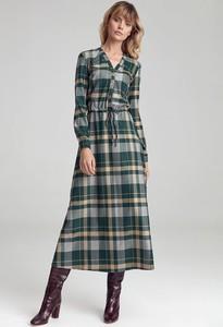 Sukienka Colett maxi z długim rękawem