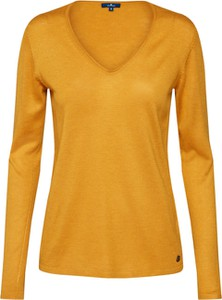 27517e8ffd51ba Żółte swetry damskie casualowe, kolekcja lato 2019