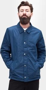 Niebieska kurtka Urban Classics z bawełny w stylu casual