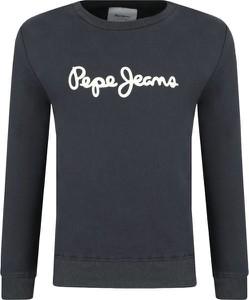 Czarna bluza dziecięca Pepe Jeans