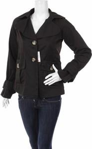 Czarna kurtka My Own krótka w stylu casual