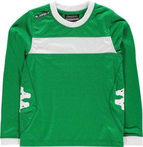 Zielona koszulka dziecięca Kappa