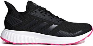 Buty sportowe Adidas sznurowane w sportowym stylu na koturnie