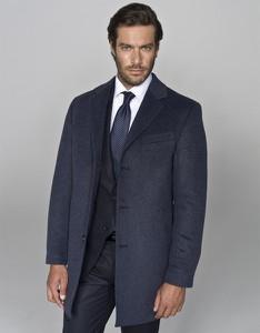 Płaszcz męski Borgio z wełny