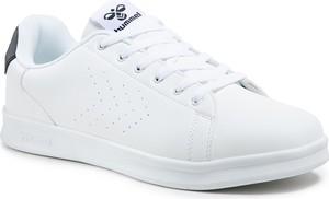 Buty sportowe Hummel ze skóry ekologicznej sznurowane
