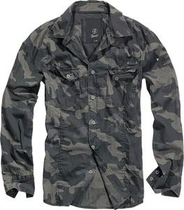 Koszula Brandit z długim rękawem w militarnym stylu z bawełny