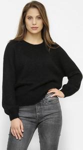 Czarny sweter Freeshion w stylu casual