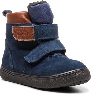Buty dziecięce zimowe Zarro na rzepy
