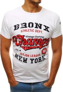 T-shirt Dstreet w młodzieżowym stylu z nadrukiem