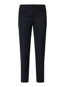 Granatowe spodnie Montego