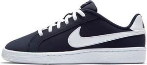 Trampki dziecięce Nike ze skóry sznurowane