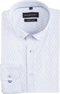 2d5432b47 Białe koszule męskie w abstrakcyjne wzory Giacomo Conti, kolekcja ...