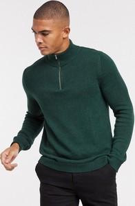 Zielona bluza Asos z bawełny