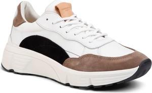 Buty sportowe Vagabond sznurowane ze skóry