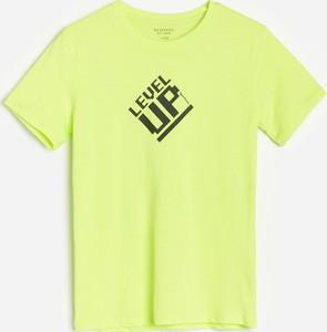Koszulka dziecięca Reserved z bawełny z krótkim rękawem