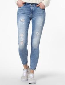 Niebieskie jeansy Noisy May w stylu casual