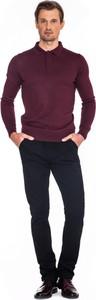 Sweter producent niezdefiniowany w stylu casual z wełny