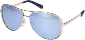 Niebieskie okulary damskie Michael Kors