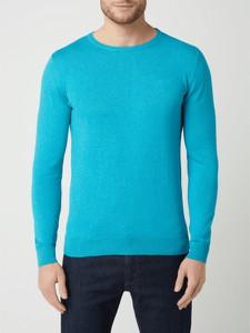 Sweter Tom Tailor z bawełny z okrągłym dekoltem