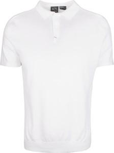 Koszulka polo Armani Exchange Ax z dzianiny z krótkim rękawem