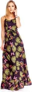Sukienka Di Piu maxi w stylu boho