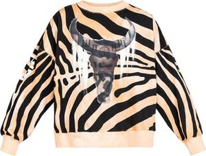 Bluza Robert Kupisz w młodzieżowym stylu z bawełny z nadrukiem