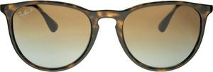 Brązowe okulary damskie Ray-Ban