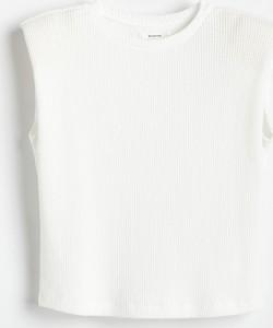 Bluzka Reserved w stylu casual bez rękawów