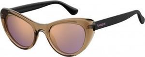 Brązowe okulary damskie Havaianas