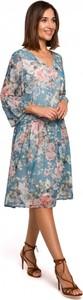 Sukienka Style z szyfonu