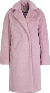 Różowy płaszcz Silvian Heach w stylu casual