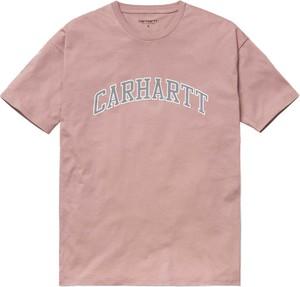 T-shirt Carhartt WIP z krótkim rękawem z okrągłym dekoltem