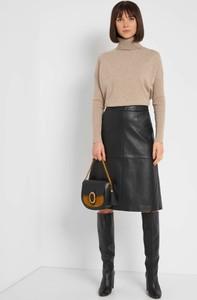 Czarna spódnica ORSAY ze skóry ekologicznej