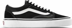Czarne buty sportowe Vans sznurowane