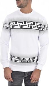 Sweter Goldenim Paris z okrągłym dekoltem z wełny w młodzieżowym stylu