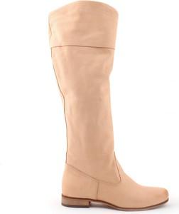Kozaki Zapato z płaską podeszwą przed kolano