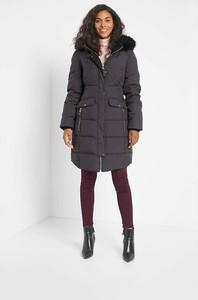 Czarna kurtka ORSAY w stylu casual długa
