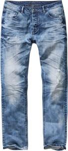 Niebieskie spodnie Brandit