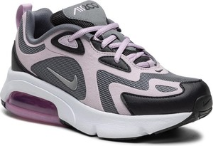 Buty sportowe Nike sznurowane z płaską podeszwą ze skóry