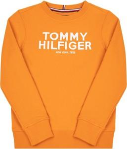 Pomarańczowa bluza dziecięca Tommy Hilfiger