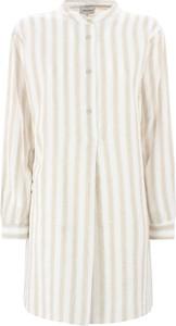 Sukienka Woolrich w stylu casual mini z długim rękawem