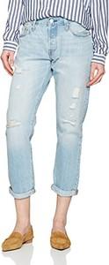 Błękitne jeansy levis