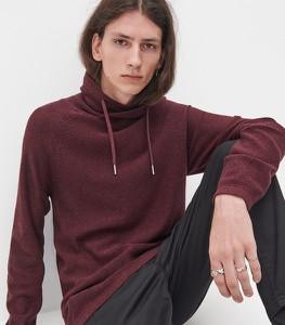 Czerwony sweter Reserved w stylu casual z bawełny