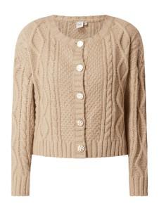 Sweter Ichi w stylu casual z wełny
