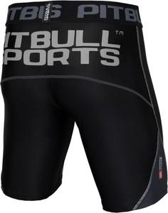 Czarne spodenki Pit Bull w sportowym stylu