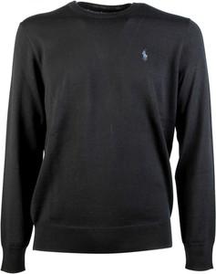Sweter POLO RALPH LAUREN z okrągłym dekoltem z wełny w stylu casual
