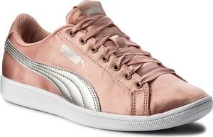 Sneakersy puma - vikky ep 366456 01 peach beige/puma silver