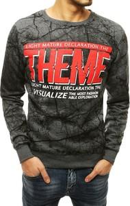 Bluza Dstreet z nadrukiem w młodzieżowym stylu