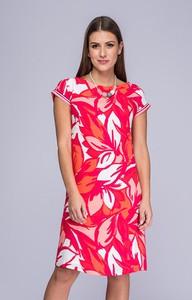 Sukienka Semper w stylu casual z tkaniny z okrągłym dekoltem